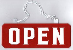 画像2: OPEN/CLOSEDプレートLサイズセット