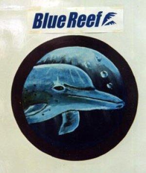 画像1: ドアーペイント1 イルカ