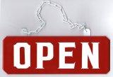 OPEN/CLOSEDプレートLサイズ